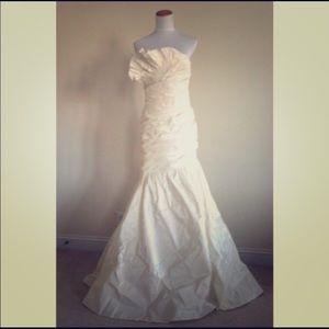 J. Crew Lydia wedding dress gown size 8